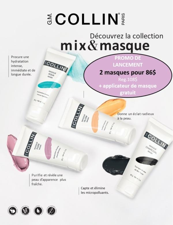 Promotion Juillet Aout 2019 - G.M Collin : Mix & Masque