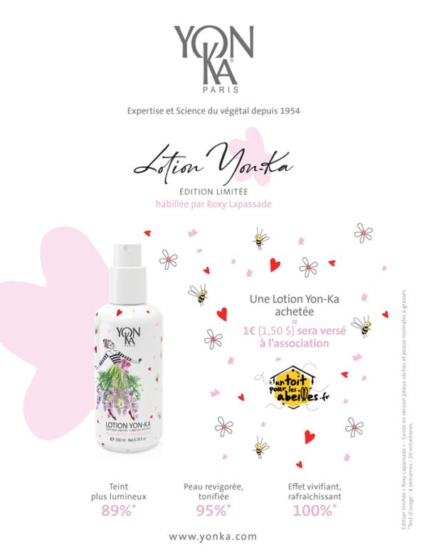 Promotion Yonka Juillet Aout 2019 - Lotion Yon-ka édition limitée