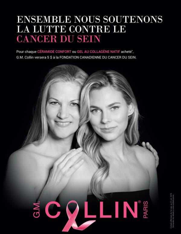 Promotion Aout Octobre 2019 - G.M Collin : Cancer du Sein