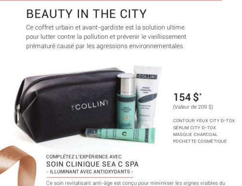 Promotion Noel 2019 – G.M Collin : Beauty in the City
