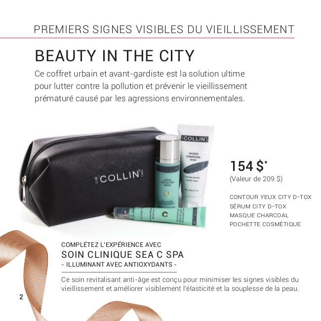 Promotion Noel 2019 - G.M Collin : Beauty in the City