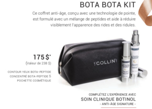 Promotion Noel 2019 - G.M Collin : Bota Bota Kit