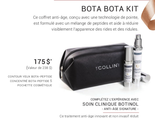 Promotion Noel 2019 – G.M Collin : Bota Bota Kit