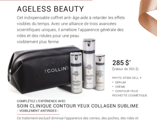 Promotion Noel 2019 – G.M Collin : Ageless Beauty