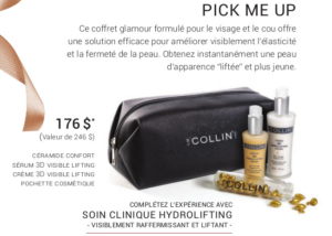 Promotion Noel 2019 - G.M Collin : Pick Me Up