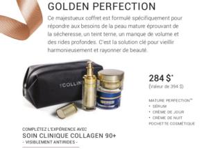 Promotion Noel 2019 - G.M Collin : Golden Perfection