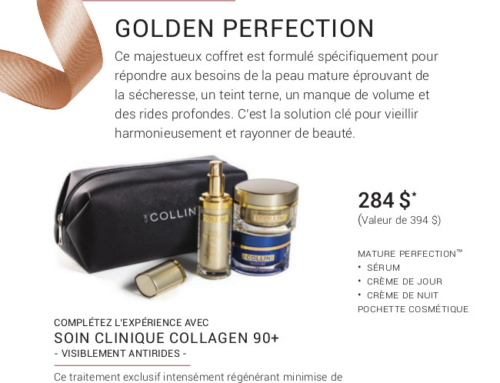 Promotion Noel 2019 – G.M Collin : Golden Perfection