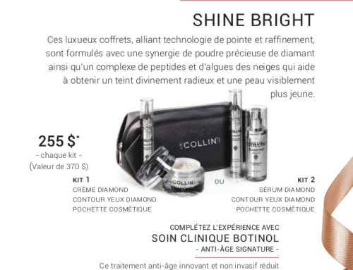 Promotion Noel 2019 – G.M Collin : Shine Bright